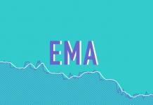 Cara menggunakan indikator EMA saat bertrading di Olymp Trade