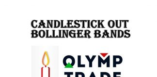 Strategi bermain Olymp Trade: kandil out Bollinger Bands