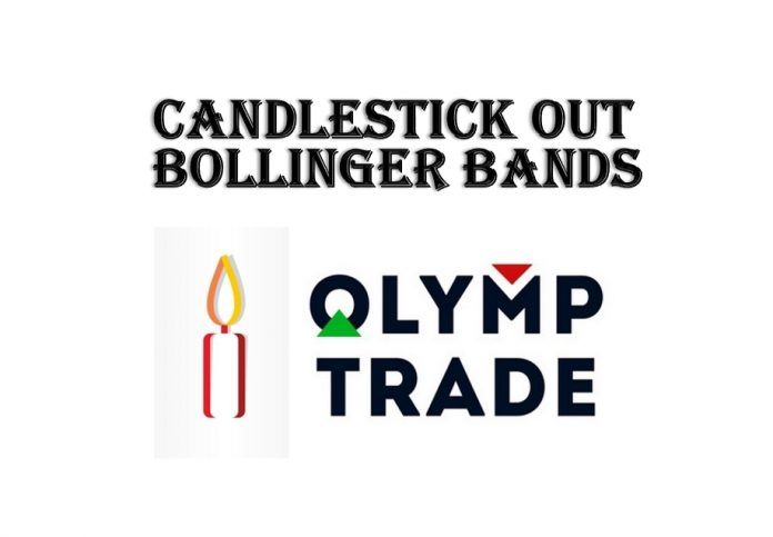 Strategi bermain Olymp Trade: kandil out Bollinger Bands
