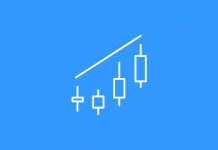 Pola candlestick Bearish Engulfing – pola yang paling efektif untuk bertrading opsi TURUN di Olymp Trade