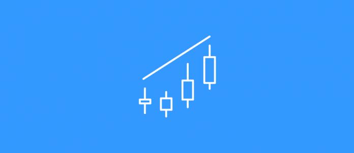 Pola candlestick Bearish Engulfing – pola yang paling efektif untuk berFixed Time Trade TURUN di Olymp Trade
