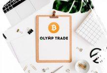 Trading opsi dengan mata uang crypto di Olymp Trade