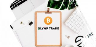 Fixed Time Trade dengan mata uang crypto di Olymp Trade