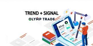 Cara menghasilkan uang di Olymp Trade: Sinyal uptrend dan entry